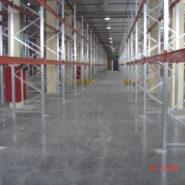 Покрытие промышленного пола в складском комплексе