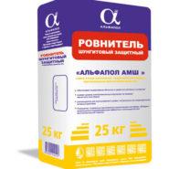 Ровнитель защитный радиоэкранирующий антистатический АЛЬФАПОЛ АМШ в упаковке 25 кг