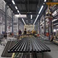 Промышленный пол в цеху