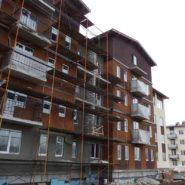 Штукатурка шуба — строительство в п. Щеглово