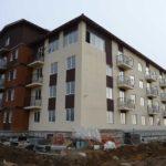 Объект строительства в п. Щеглово — штукатурка шуба