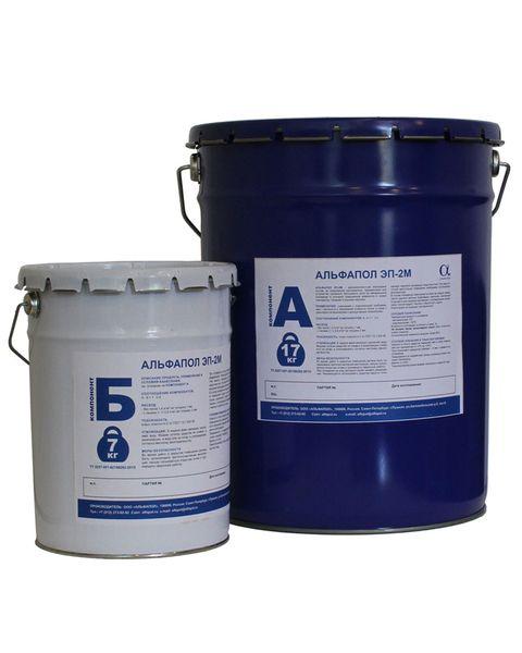 АЛЬФАПОЛ ЭП-2М: эпоксидный промышленный пол для нанесения в условиях повышенной влажности и пониженных температур