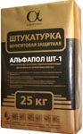 Еще одна версия упаковки - мешок с магнезиально-шунгитовой штукатуркой АЛЬФАПОЛ ШТ-1
