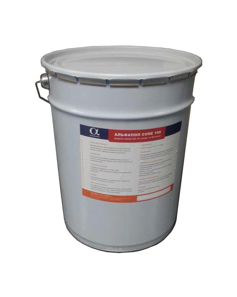 АЛЬФАПОЛ CURE 100: жидкое средство по уходу за бетоном