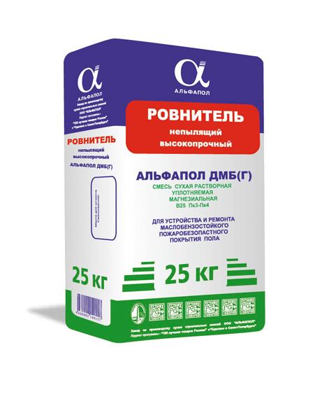 Гранитный мозаичный пол АЛЬФАПОЛ ДМБ-Г в упаковке 25 кг