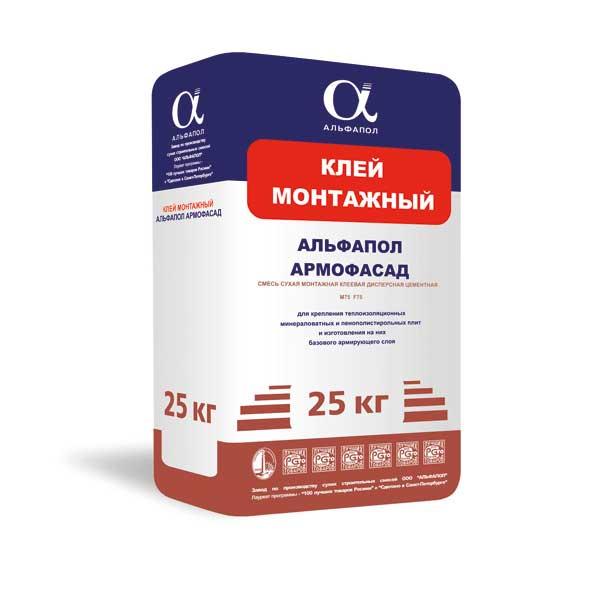 Монтажный клей Аромофасад в упаковке 25 кг