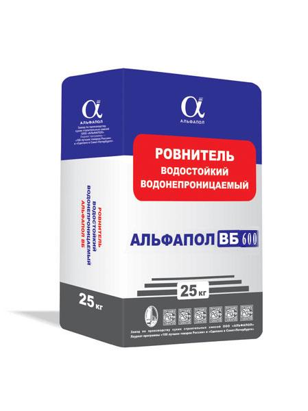 АЛЬФАПОЛ ВБ-600: износоустойчивый водонепроницаемый промышленный бетонный пол В45 W16
