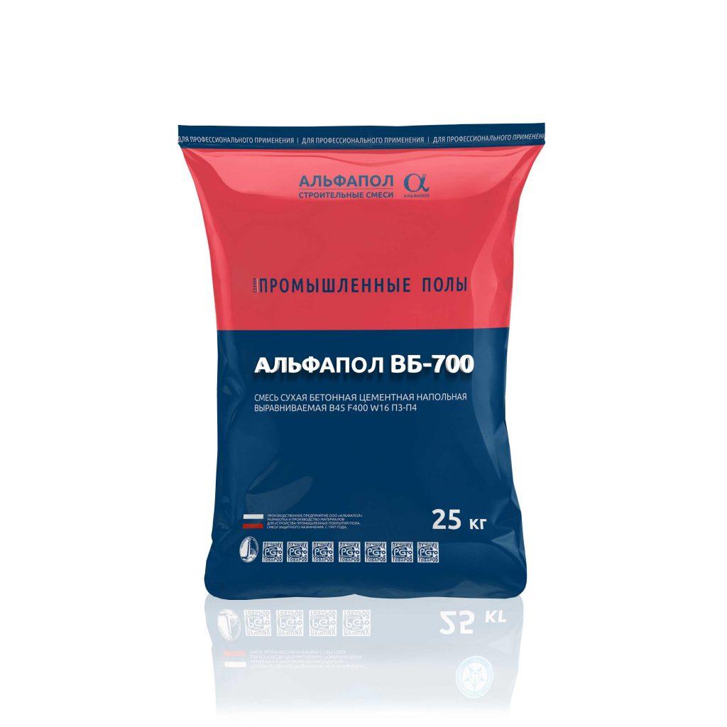 АЛЬФАПОЛ ВБ-700: износоустойчивый маслобензостойкий промышленный пол B45 W16